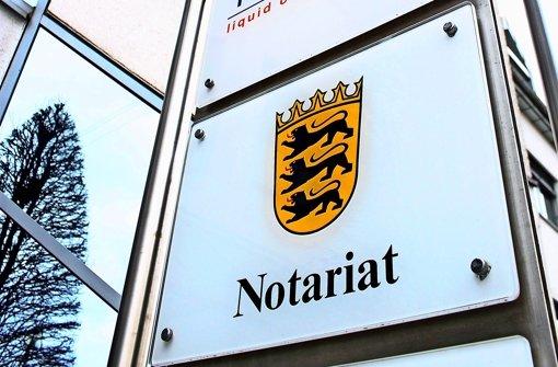 Die Notariate werden  Ende 2017 geschlossen