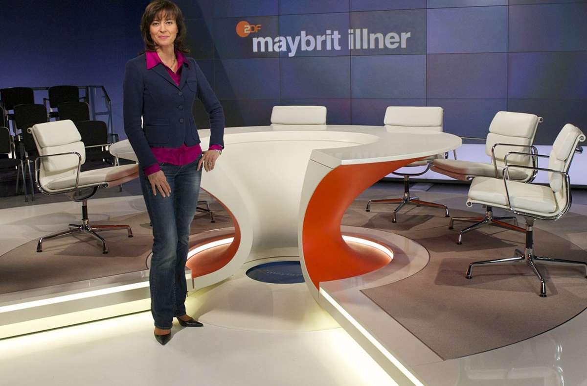 Auch Moderatorin Maybrit Illner stimmte in die Kritik an Altmaier ein. Foto: dpa/Carmen Sauerbrei