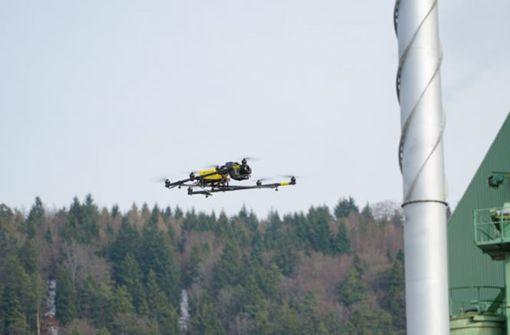 Tuttlinger Firma setzt auf Drohnen am Bau