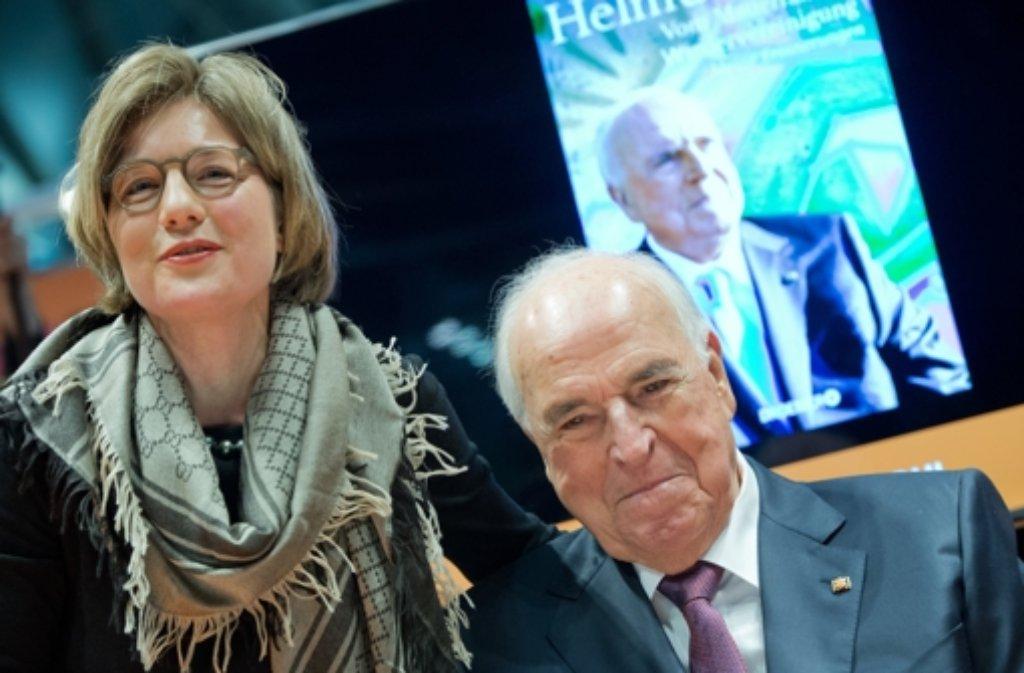 Helmut Kohl mit seiner Frau Maike Kohl-Richter Foto: dpa