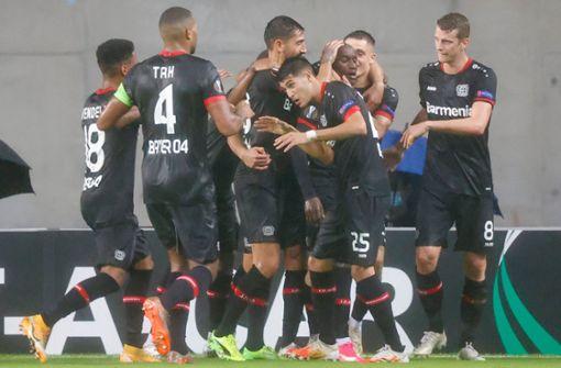 Bayer Leverkusen feiert 4:2-Auswärtssieg in Israel