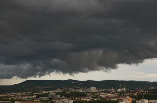 Wetterdienst warnt vor Unwetter mit Starkregen