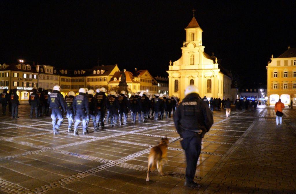 Schon im Dezember hat es in Ludwigsburg Zoff zwischen Red Legion und Osmanen gegeben. Foto: dpa