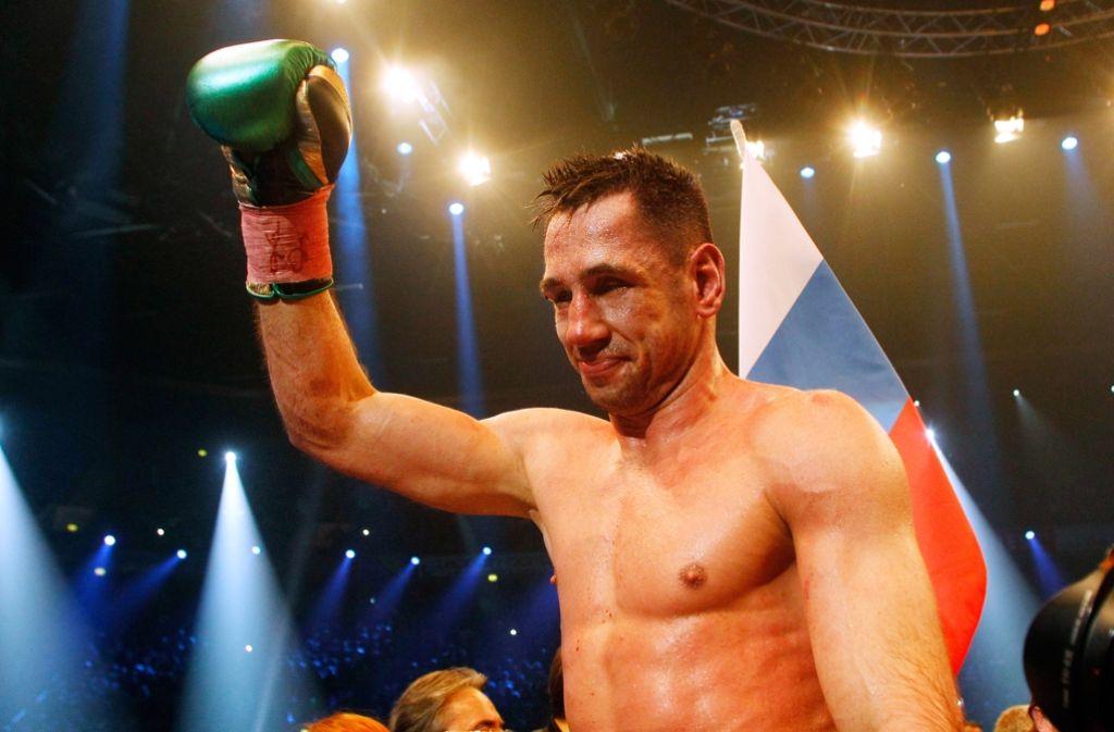 WBA-Super-WM Supermittelgewicht Felix Sturm im Februar. Foto: dpa