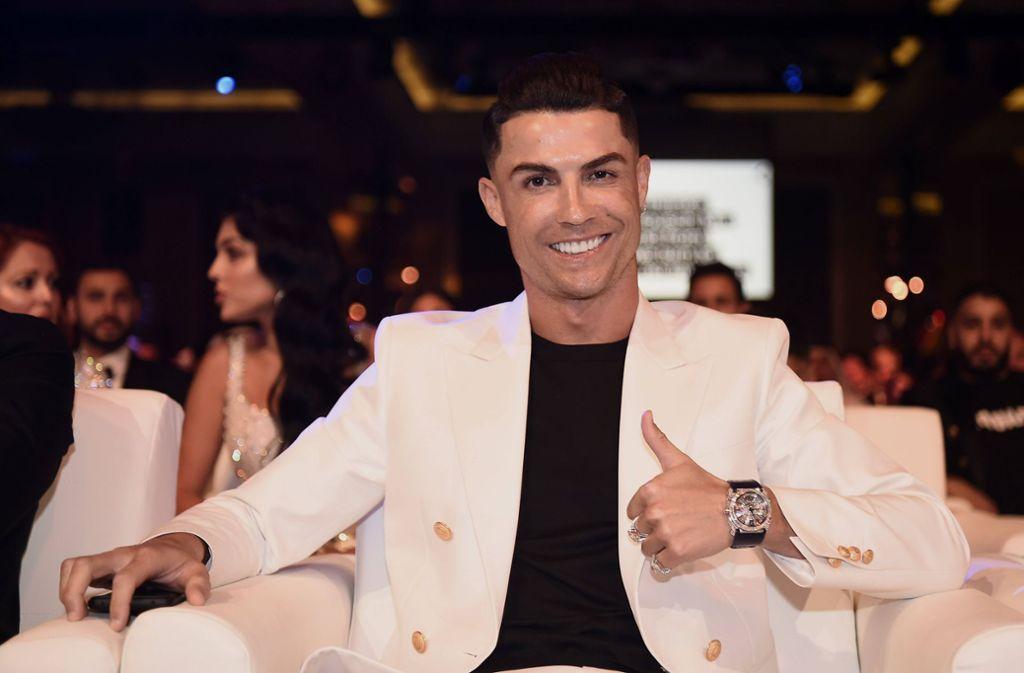 Nicht nur auf dem Fußballplatz ist Cristiano Ronaldo ein echter Topverdiener. Foto: imago images/LaPresse/Fabio Ferrari/LaPresse