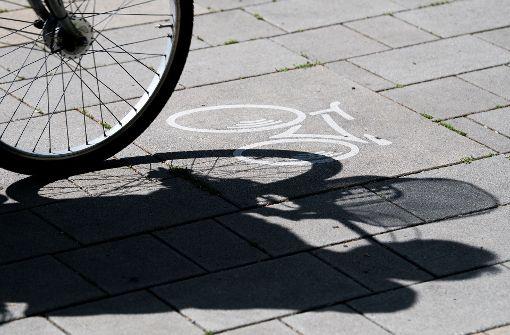 Bei der Radlerfreundlichkeit bekommen  die  Städte im Land   mäßige  Noten.. Foto: dpa