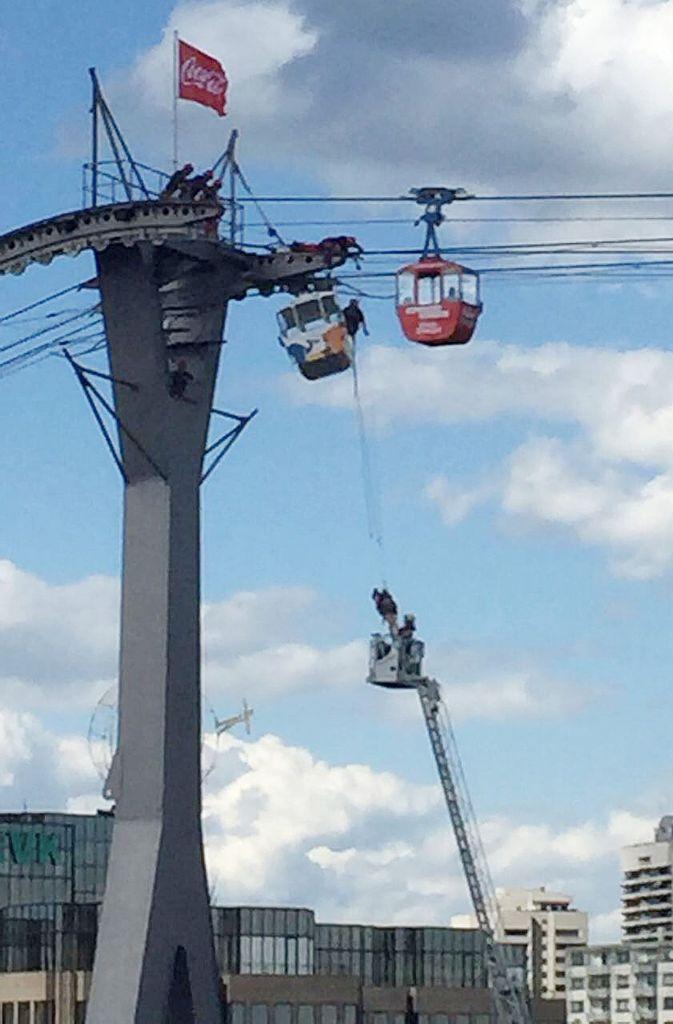 Seilbahn Unfall Köln
