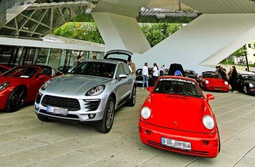 Porsche fahren für einen guten Zweck