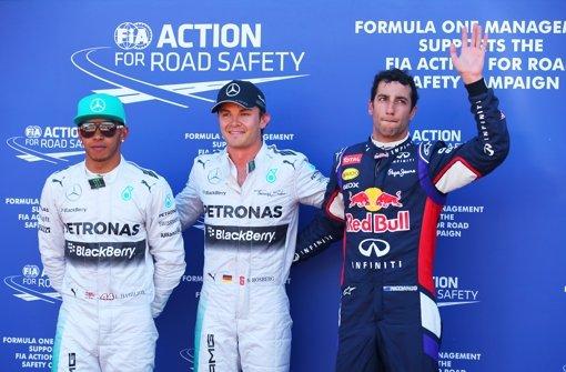 Mercedes-Pilot Rosberg sichert sich Pole in Monaco