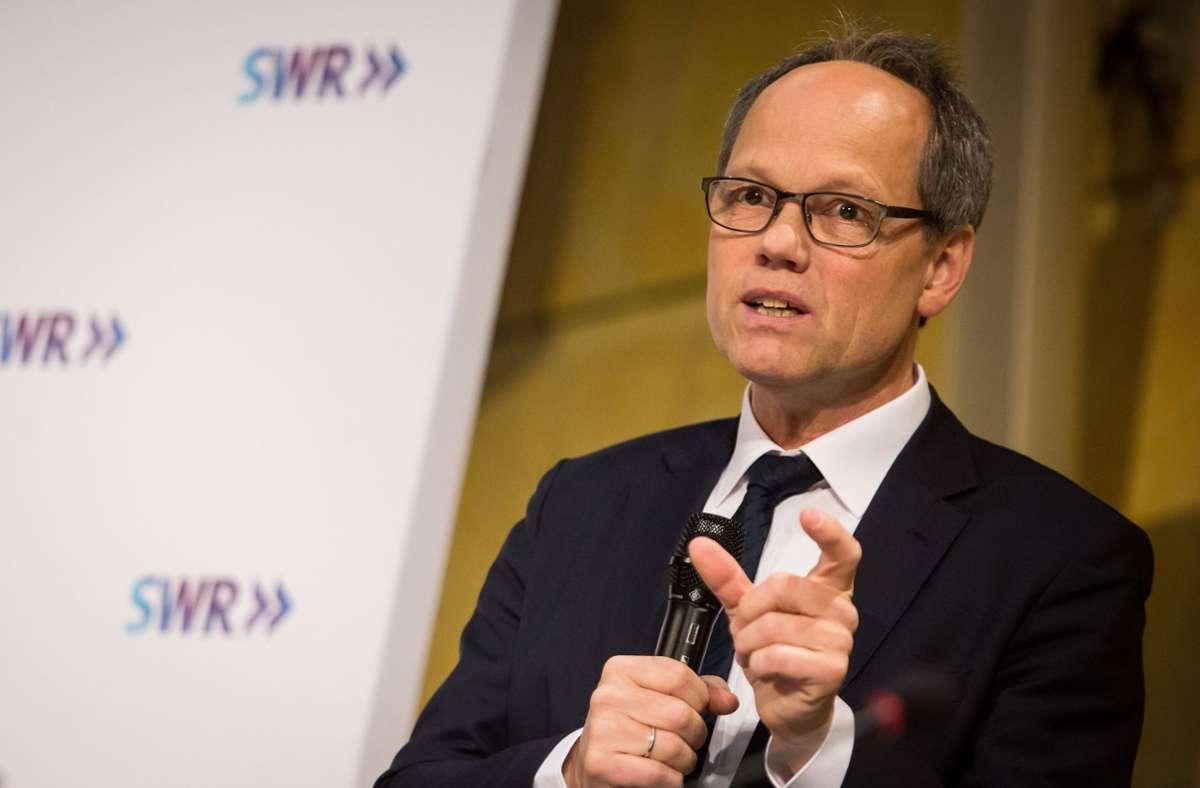 Kai Gniffke, der neue Intendant des SWR Foto: dpa/Christoph Schmidt