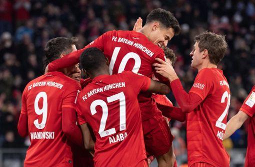 Philippe Coutinho führt den FC Bayern zum 6:1