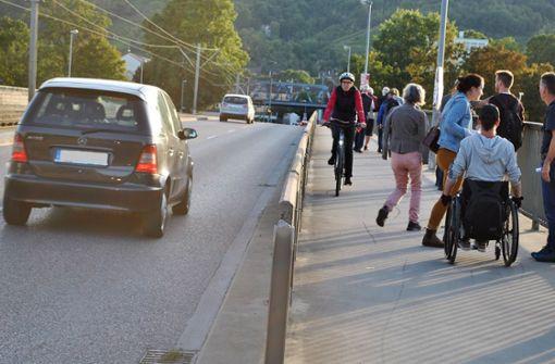 Fußgänger fordern attraktive Wege ein
