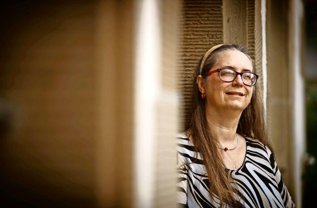Claudia Greiner ist Archäologin und Limes-Cicerone. Foto: Gottfried Stoppel