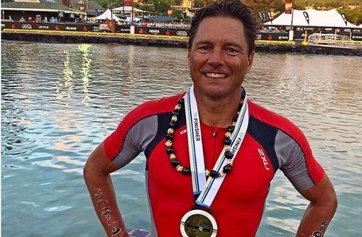 Stuttgarter  läuft mit 50 Jahren den Ironman in Superzeit