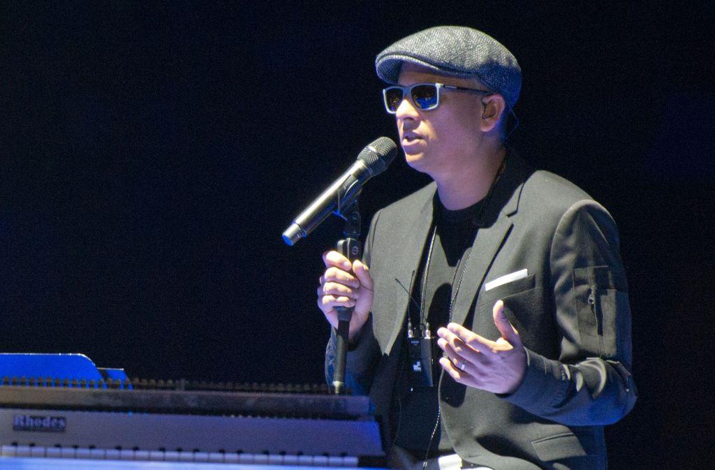 Xavier Naidoo bei seinem Auftritt in Stuttgart Foto: Lichtgut - Oliver Willikonsky