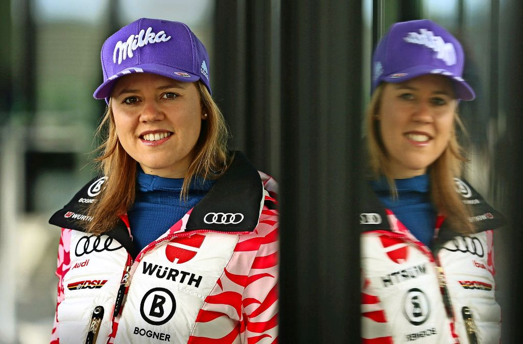 Eine erfolgreiche Eliteschülerin: Skirennläuferin Viktoria Rebensburg hat es geschafft, in ihrem Abi-Jahr 2010 Olympiasiegerin in Vancouver zu werden. Foto: dpa