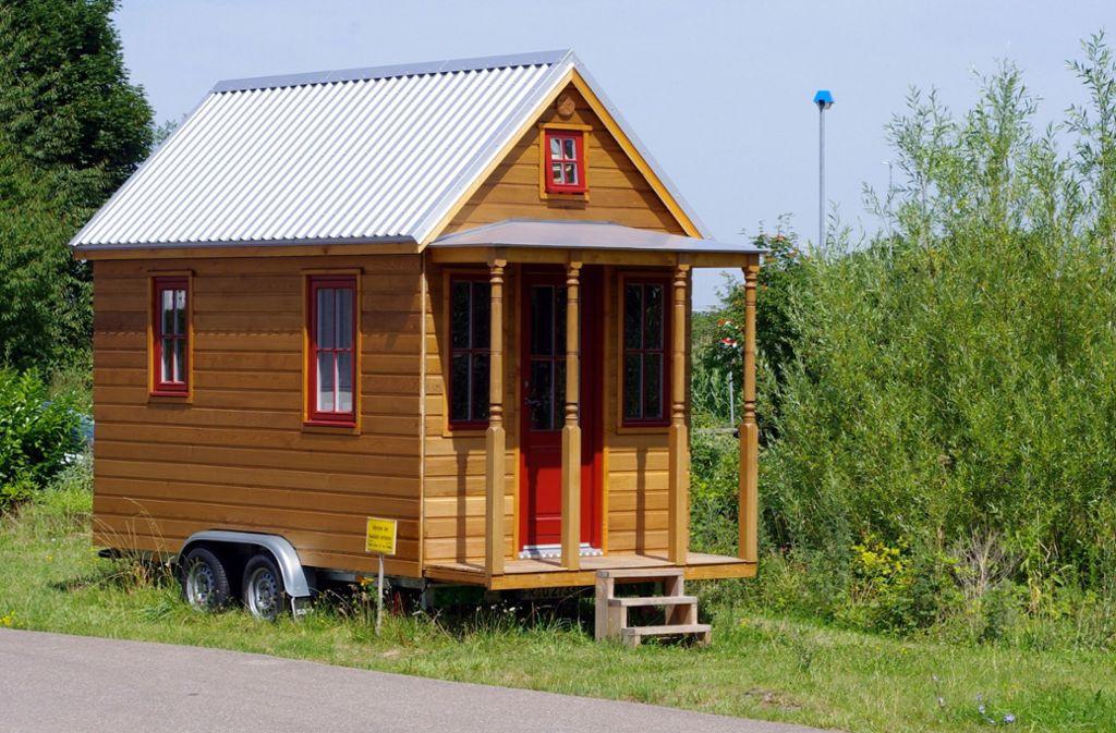 Kommen oft auch auf Rädern daher: Tiny Houses. Foto: dpa