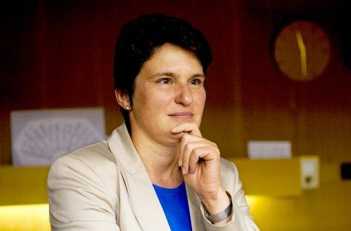 Um ihre Mails geht es: Ex-Ministerin Tanja Gönner, CDU Foto: dpa