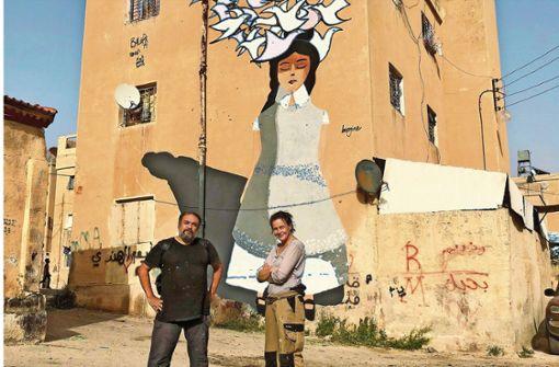 Ammans Wände werden wild