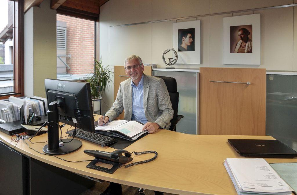 Siegfried Klingler geht in den Ruhestand. Foto: factum/Bach