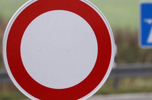 Landesstraße zwischen Plieningen und Neuhausen gesperrt