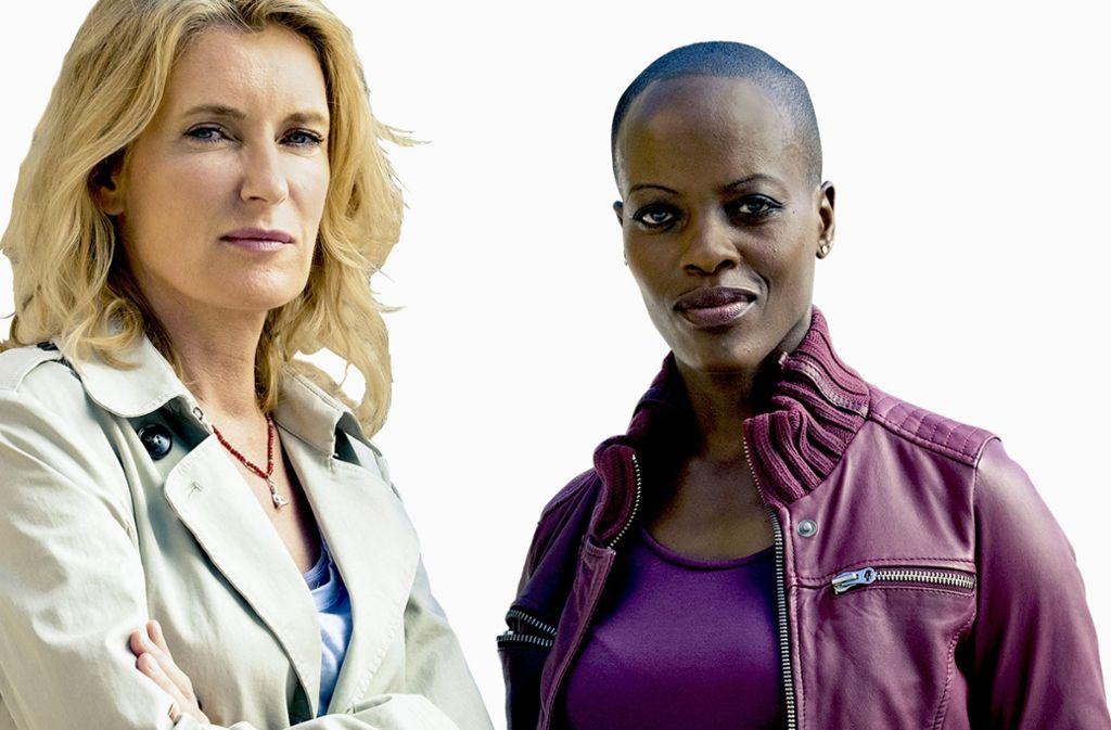 Auch in Hollywood gefragt: die in Uganda geborene, in Berlin lebende Florence Kasumba als Kommissarin Anaïs Schmitz an der Seite von Maria Furtwängler als  Charlotte Lindholm. Foto: NDR
