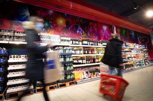 Inflation bleibt im November unter Null