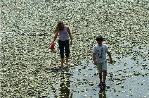 Grundwasserspiegel sind extrem gefallen
