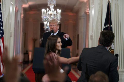 CNN verklagt die US-Regierung