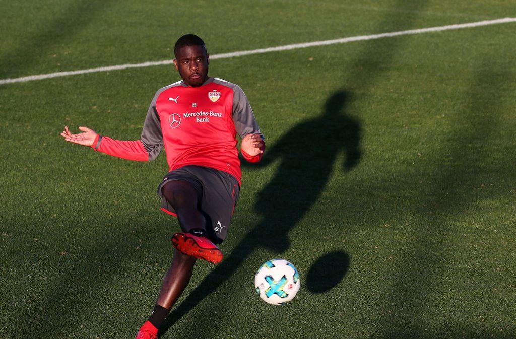 Orel Mangala wird vom VfB Stuttgart an den Hamburger SV ausgeliehen. Foto: Pressefoto Baumann