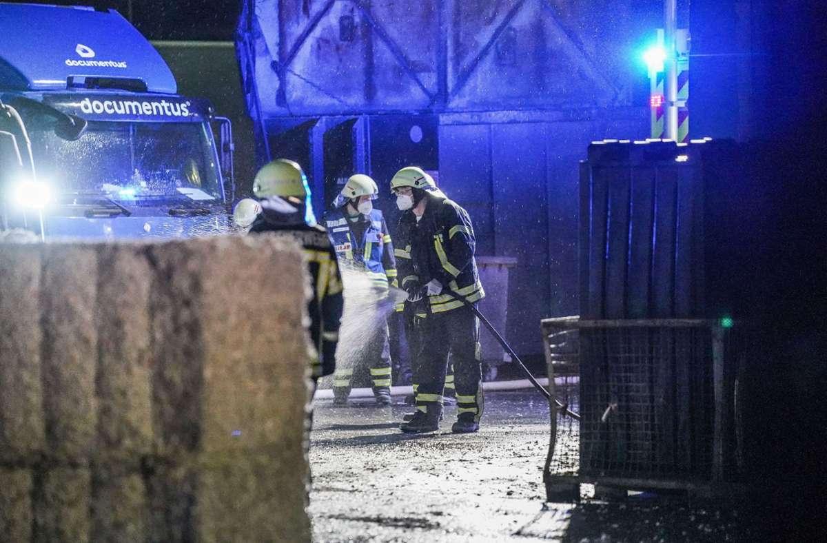 Die Feuerwehr konnte den Brand rasch löschen. Foto: SDMG/Kohls