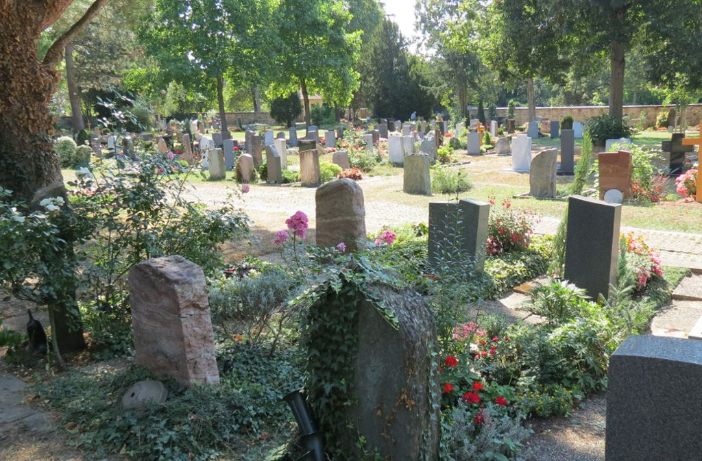 So viele Gräber wie die Stadt einst geplant hatte, braucht es in Stuttgart-Plieningen wohl nicht. Foto: Julia Bosch