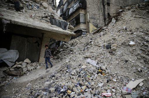 Offensive auf Aleppo fordert hunderte Todesopfer
