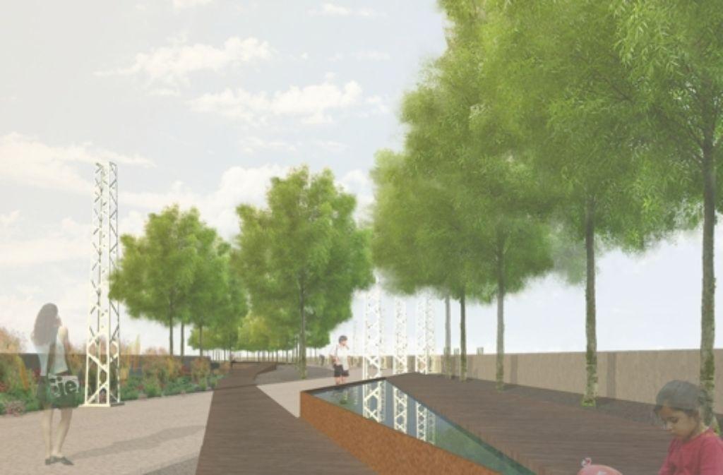 Auf der Brücke soll vor allem eines geschaffen werden: Aufenthaltsqualität. Foto: privat