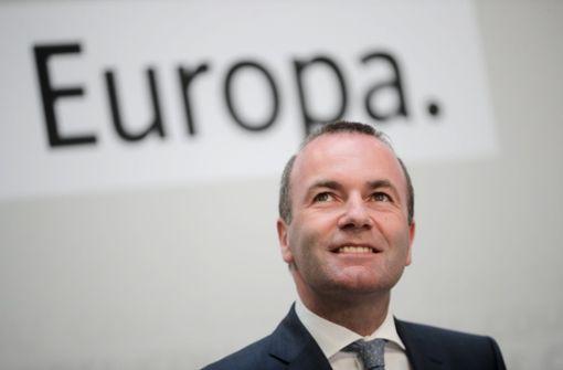 Bericht: Weber soll nicht EU-Kommissionschef werden