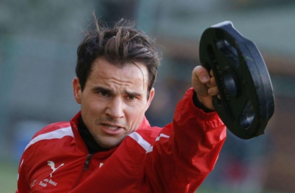 Tamás Hajnal ist einer von vielen Söldnern beim VfB Stuttgart. Foto: Pressefoto Baumann