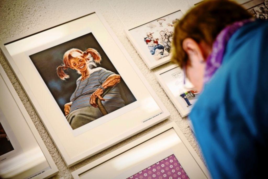Unter den Exponaten: Pippi Langstrumpf mit Botoxspuren Foto: Lichtgut/Leif Piechowski