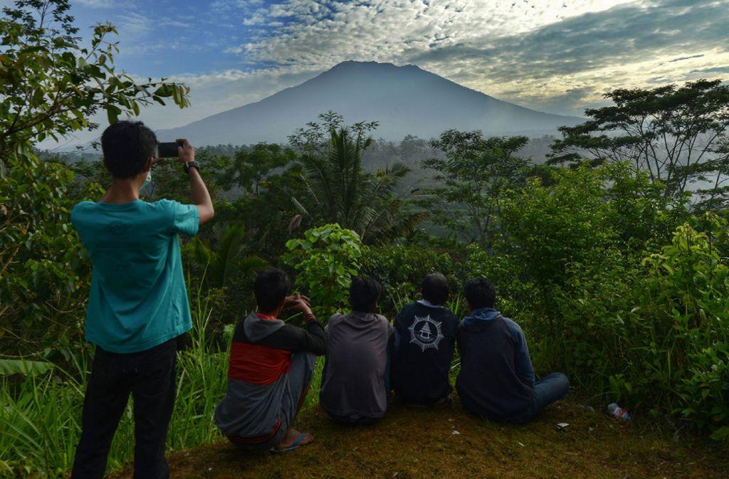 Auf Bali ereignete sich ein Erdbeben (Archivfoto). Foto: AFP
