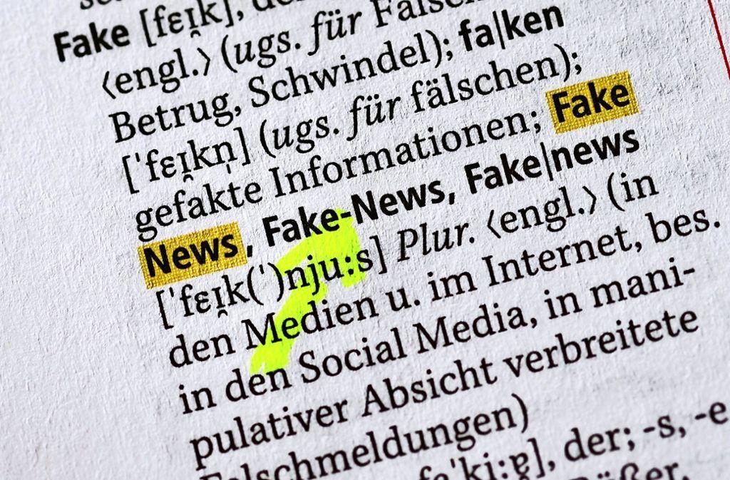 Welche Berichte sind wahr, welche nicht, was können wir überhaupt noch glauben – diese Fragen können das gesellschaftliche Vertrauen untergraben. Foto: dpa