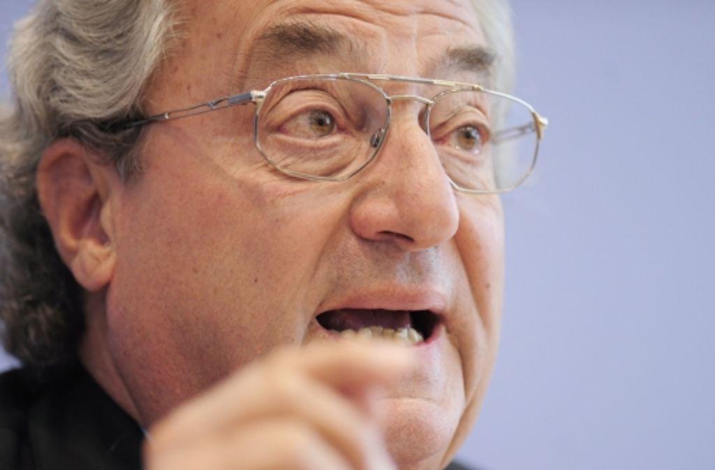 Im September wird Dieter Hundt, der Eigentümer des schwäbischen Automobilzulieferers Allgaier in Uhingen, 75 Jahre alt Foto: dpa
