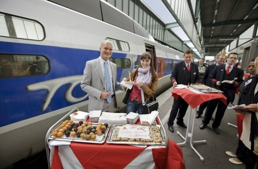 Der TGV hat den Flieger abgehängt