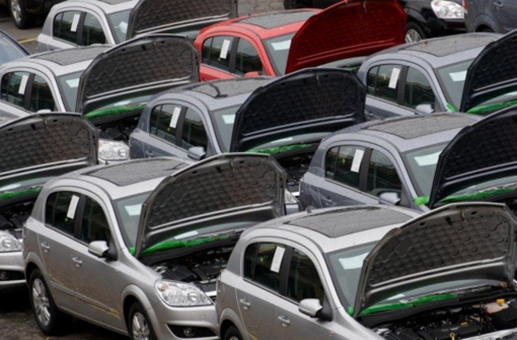 Auf der Suche nach einem neuen Auto hat es ein 31-Jähriger in Künzelsau etwas übertrieben. Foto: dpa