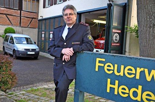 Brandrede des Feuerwehrkommandanten