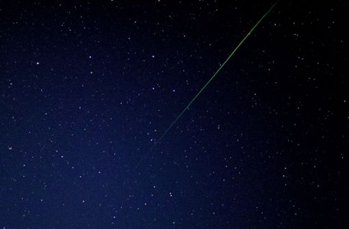 Draconiden und Merkur am Himmel sichtbar