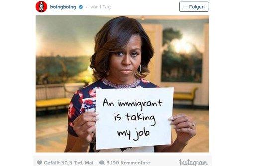"""""""Ein Einwanderer nimmt mir meinen Job weg"""""""