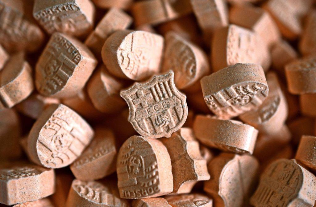 Auch Ecstasy-Tabletten sind nach dem Diktat der Markenkultur gestaltet. Foto: