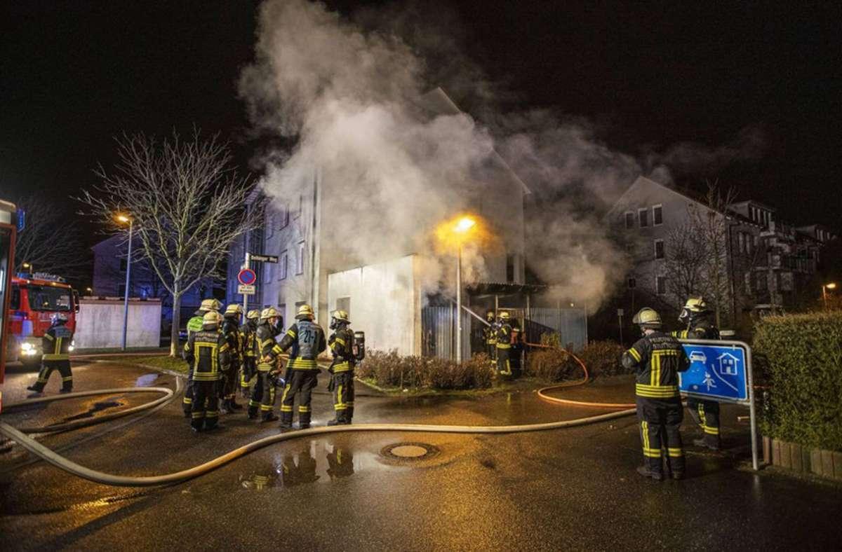 Bereits Anfang des Jahres brannten Mülltonnen in Stammheim. (Archivbild) Foto: 7aktuell/Simon Adomat