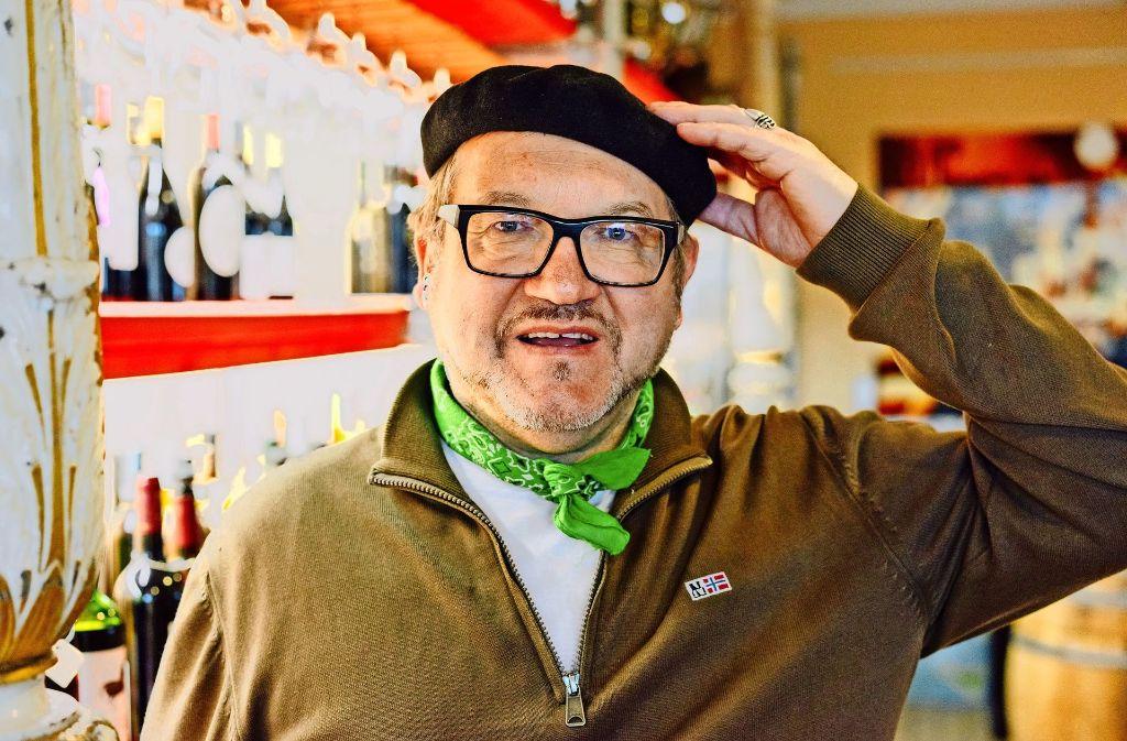 Nie ohne meine Baskenmütze ist das Motto von Guido Keller. Foto: Lichtgut/Verena Ecker