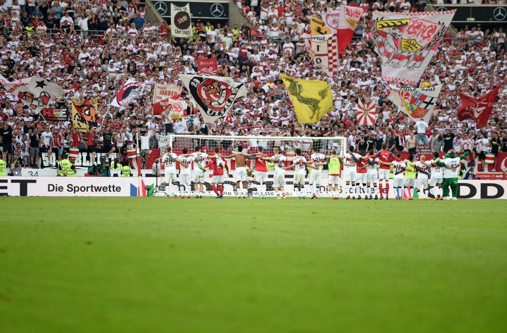 Ein meist volles Stadion dürfte die Spieler des VfB Stuttgart auch in der kommenden Saison wieder erwarten. Foto: dpa
