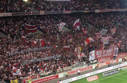 VfB-Ultras intensivieren Proteste gegen den DFB